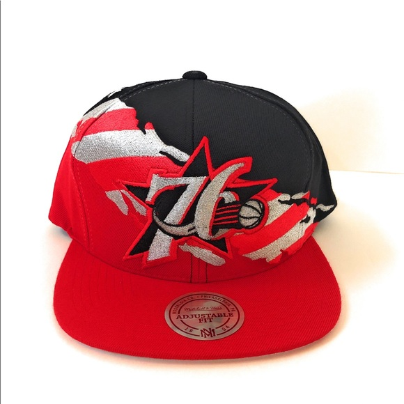 ee49afebd0d7b Mitchell & Ness Philadelphia 76ers Sixers Hat NWT